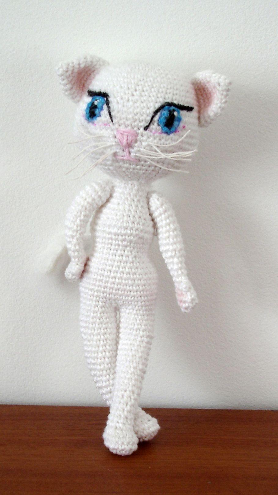 cuerpo gatita | Amigurumi | Pinterest | Croché, Ganchillo y Amigurumi