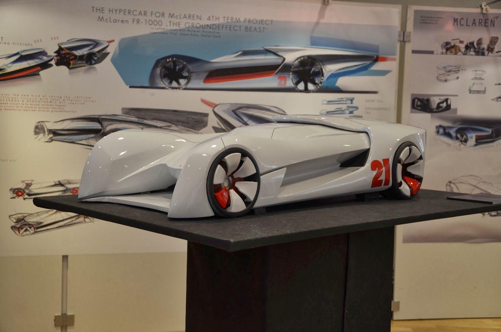 Sktchtrack 4th Term Project Racecar For Mclaren Hs Pforzheim Race Cars Mclaren Concept Cars