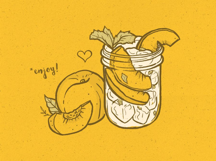 Moonshine & Peaches by Corinne Alexandra