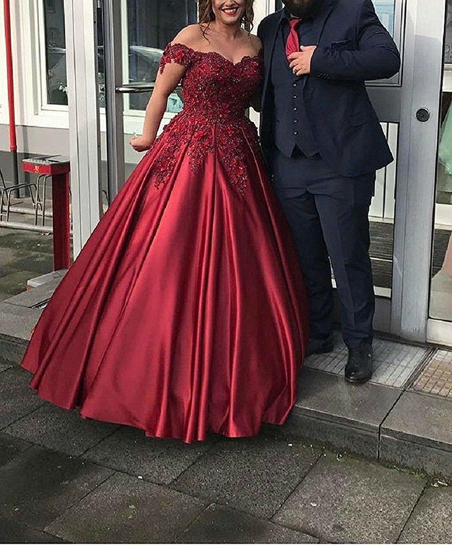 Bonnieshop bonnie lace bodice prom dresses long satin off the