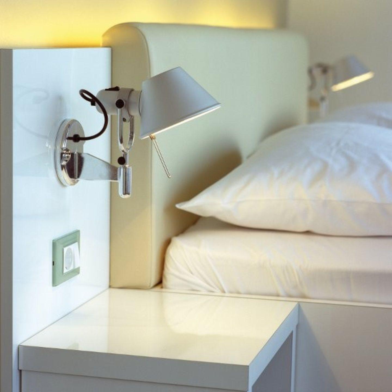 Artemide Tolomeo | Wall lamps bedroom, Wall lights