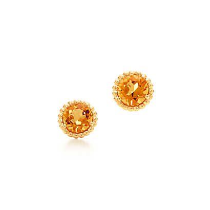 Tiffany Sparklers Citrine Earrings
