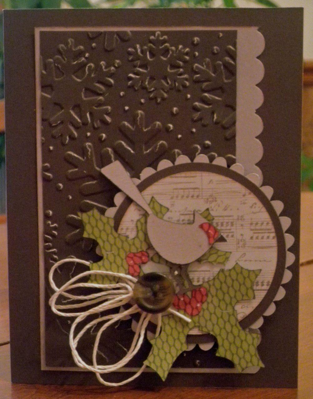 Cricut Crazy Scrapper Christmas cards, Christmas cards