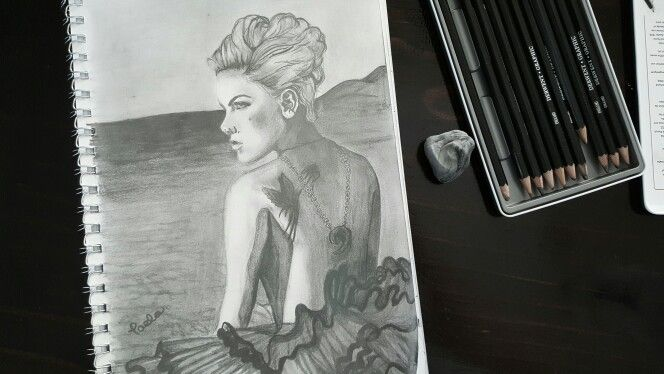 P!nk sketch Credit: Taelia Wheeler