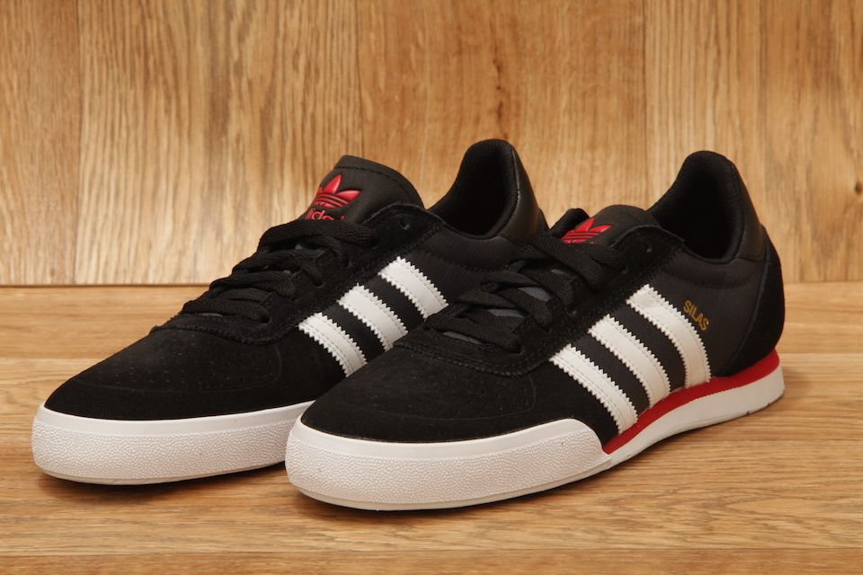 20671eae7f8d ADIDAS SILAS SLR CORE BLACK   FTW WHITE   POWER RED £56.95