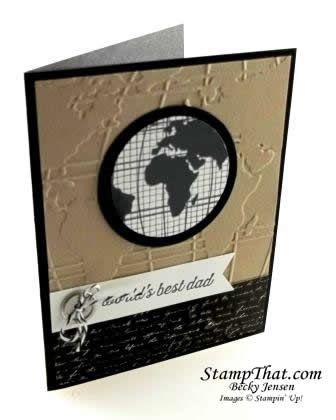 Stampin Up Going Global Stamp Set