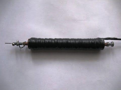 Электроискровой карандаш (маркер). Обзор конструкции. - YouTube