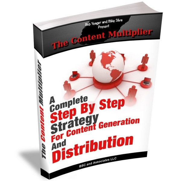 The Content Multiplier is an Internet marketing content creation and distribution strategy created and tested over 5 years by the creators of The World Entrepreneur Success Training program (WEST)
