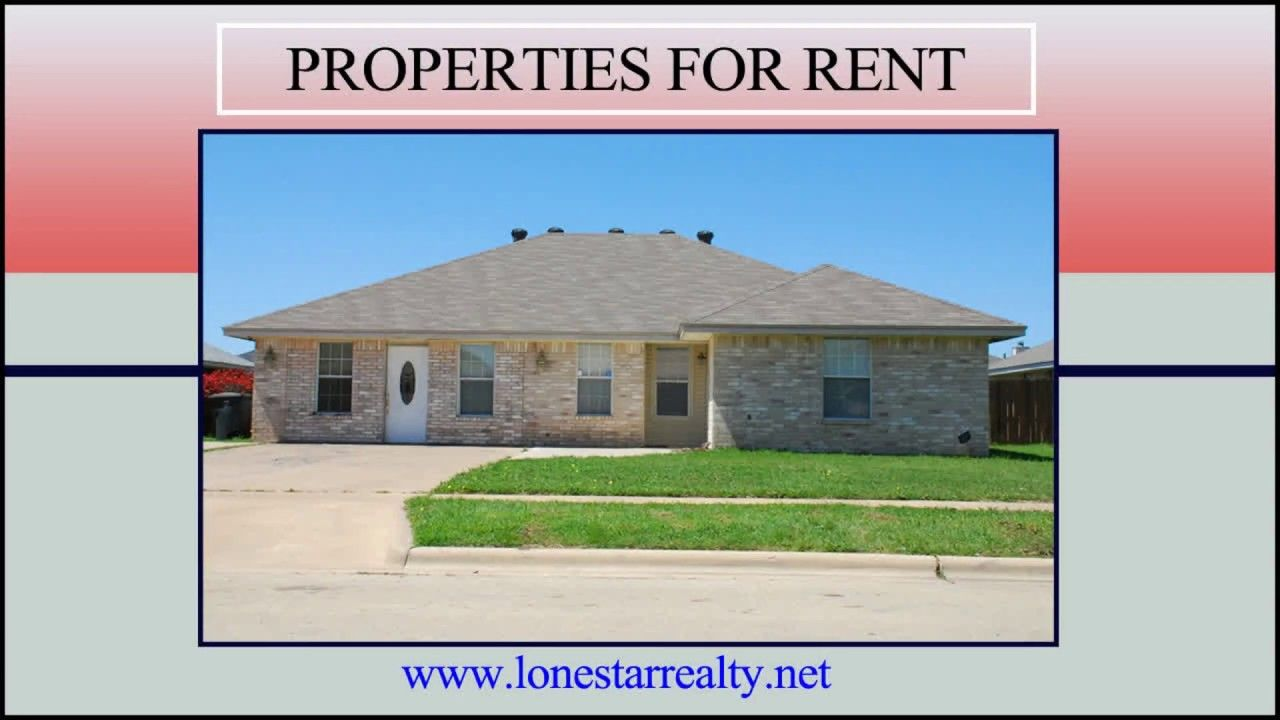 Search Compare And Rent Amazing Rental Homes In Killeen Tx Lone Star Realty Property Management Inc Is A Property For Rent Renting A House House Rental