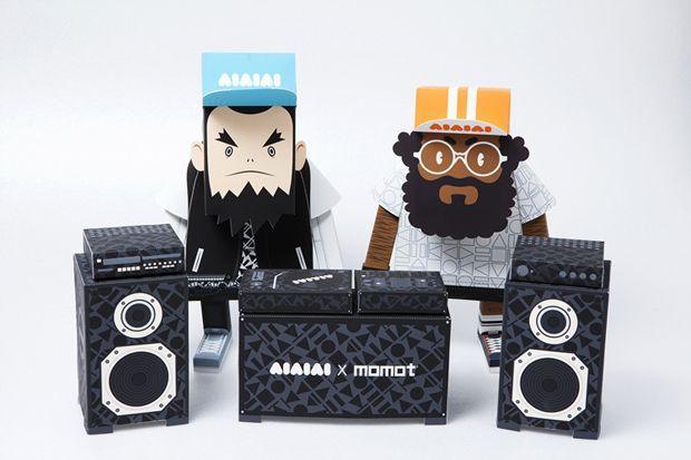 AIAIAI X MOMOT Papierspielzeug Vor 9 Stunden ⋅ Design ⋅ von Eugene Kan ⋅ 1…