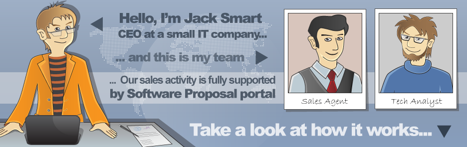 online and easy to use software proposal creator professional
