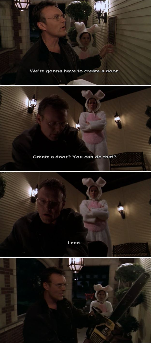 """He will mess you up if you threaten his kids. 