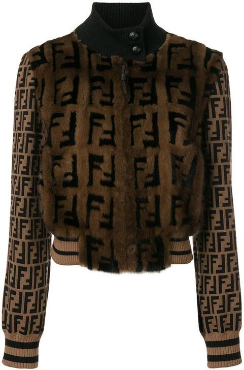 4596772549 20+ Amazing Women Bomber Jacket Ideas That You Must Know   Women Fashion   Fendi  sweater, Fur bomber, Fendi fur