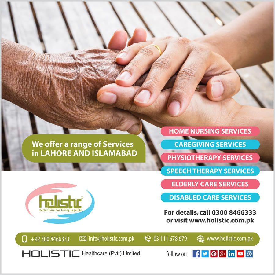 Senior Home Care Services in Lahore, Islamabad, Faisalabad