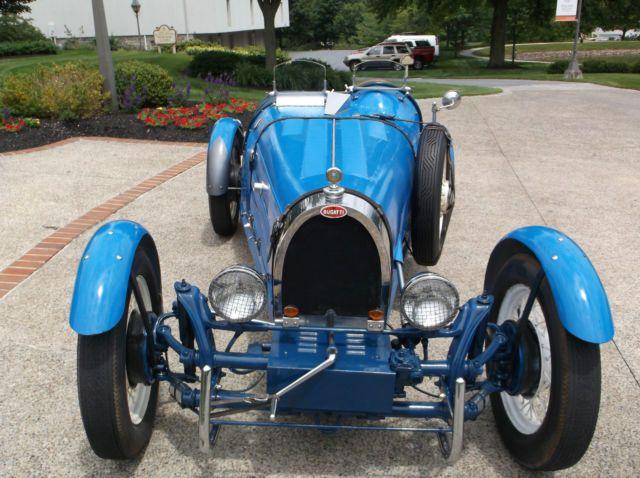 1927 bugatti type 35b replica kit car new 2110cc motor on 1968 vw