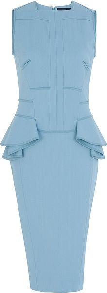 ELIE SAAB Short Ruffle Dress