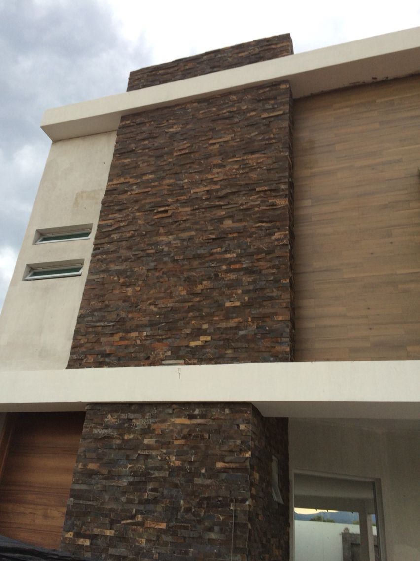 Piedra fachada color ideas for my house pinterest - Piedra fachada exterior ...