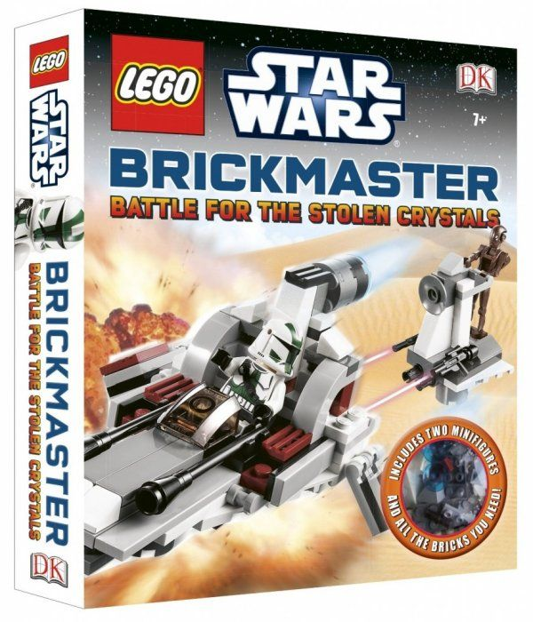 Lego Star Wars Battle For Stolen Crystals Brickmaster Book And Toy