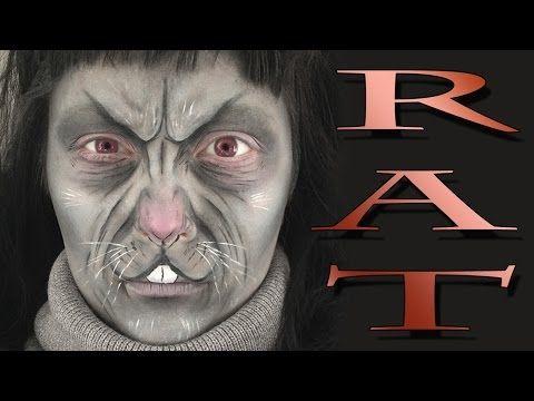 rat halloween makeup tutorial  youtube  halloween makeup