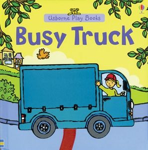 $10.99 Usborne Books & More. Busy Truck with 1 piece puzzle that moves through the page while you are reading for age 1 and up