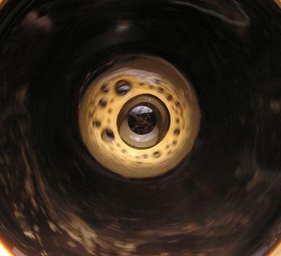 Goutte café -  - Photo macro de gouttes d'eau
