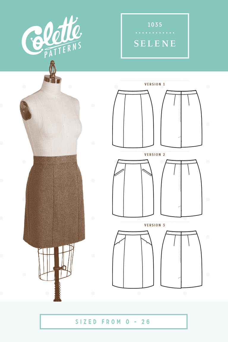 Selene - colette patterns | Patterns | Pinterest | Costura, Moldes y ...