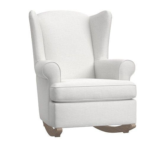 Wingback Convertible Rocking Chair Amp Ottoman In 2019