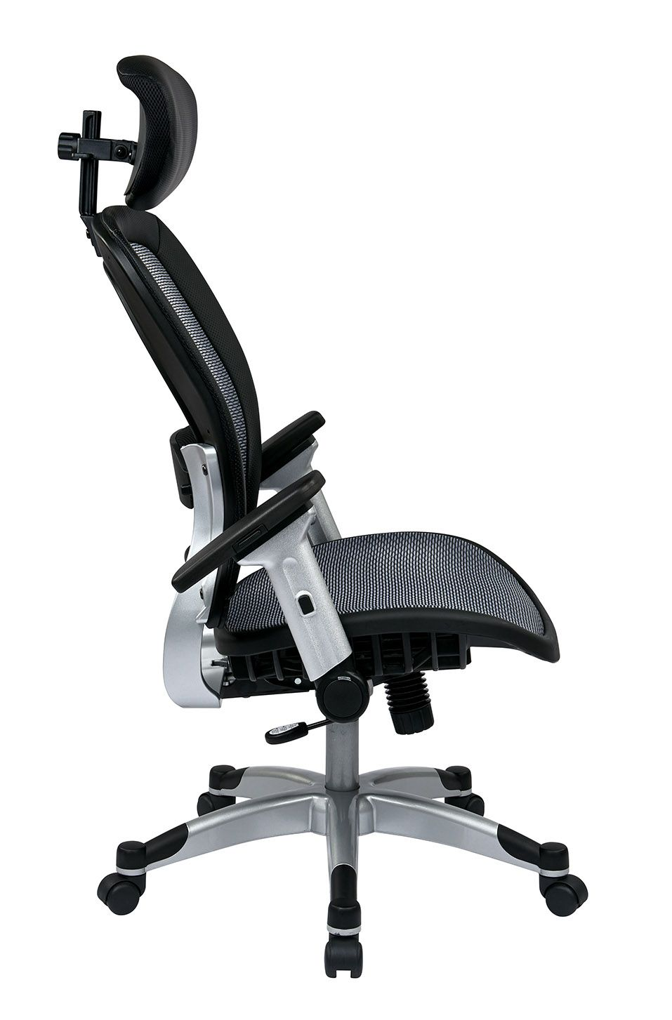 327 Series Professional Light Air Grid® Chair With Headrest. Adjustable  Lumbar Support, Height