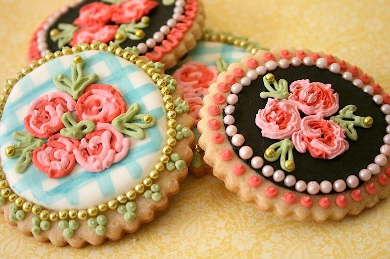 Galletas decoradas vintage