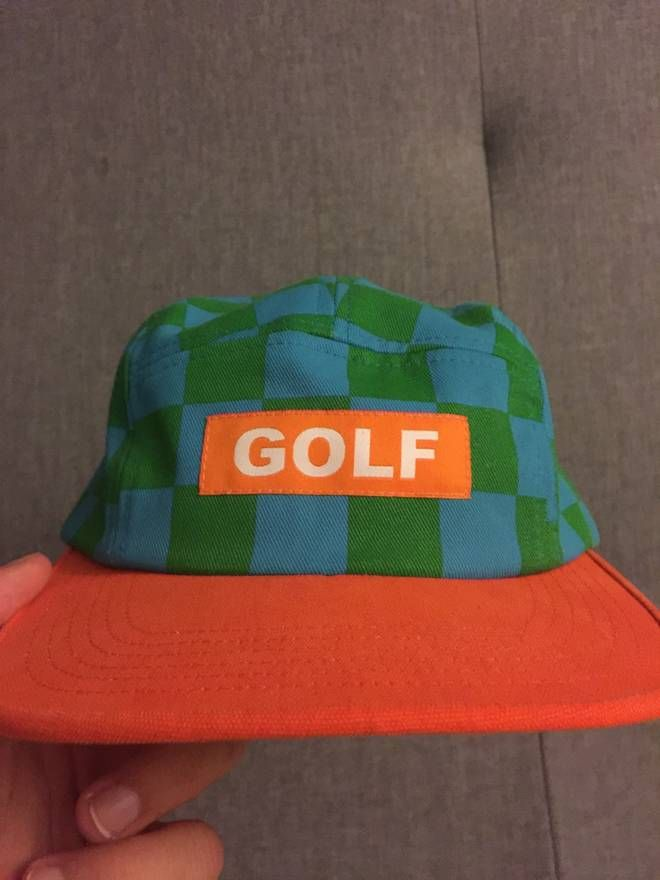 d96db773b7f12 Golf Wang Checkered 5-Panel Size ONE SIZE