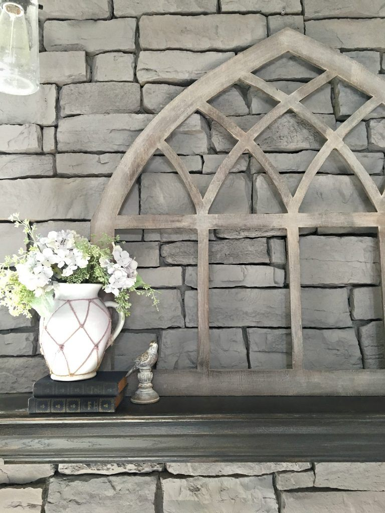 DIY Gothic Cathedral Window Frame (Fixer Upper Inspired) | Cathedral ...