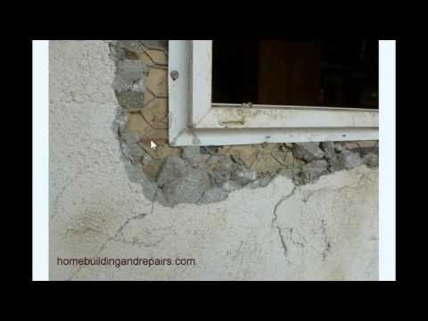 how not to install window in exterior stucco wall construction