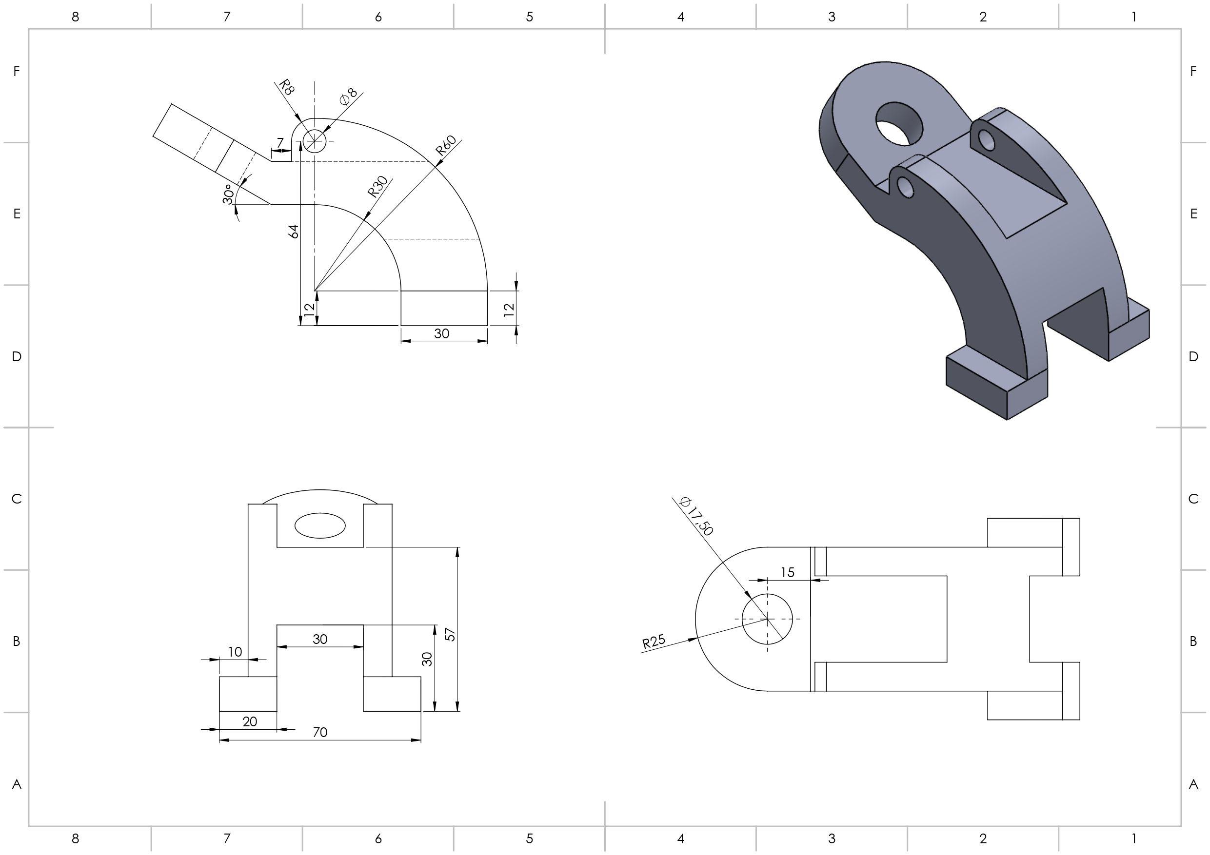 Pin By Daniel Rivera On Dibujos Tecnicos Solidworks Technical