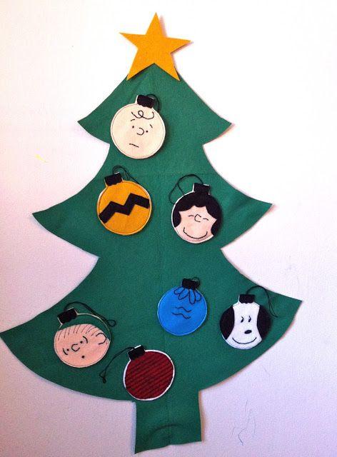 a little gray: Charlie Brown Christmas Ornaments Tutorial | Handmade ...