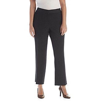 Rafaella® Plus Size Gab Curvy Fit Pants