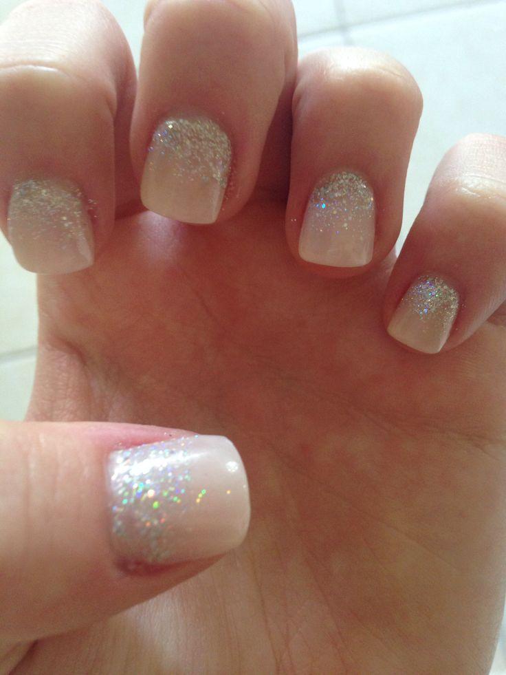 French Tip Acrylic Nails Short - http://www.mycutenails.xyz/french ...