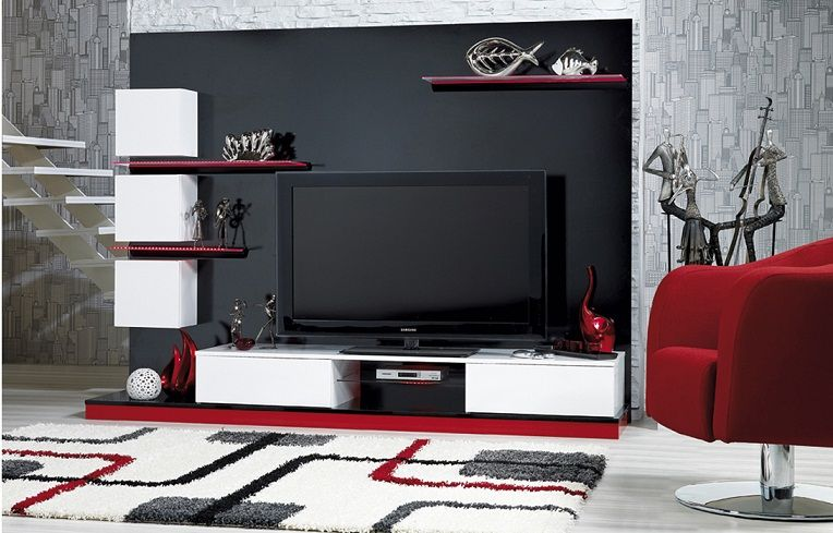 Http Www Evimindekorasyonu Com 2014 09 17 Tv Unitelerinde En Yeni Trendler Living Room Wall Units Living Room Wall Tv Wall Design