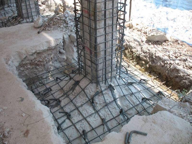 Footing Retrofication Construction Ideas Pinterest