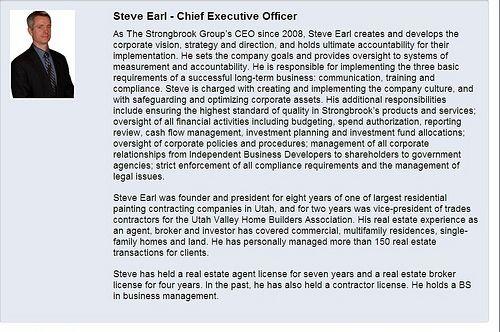 Strongbrook CEO