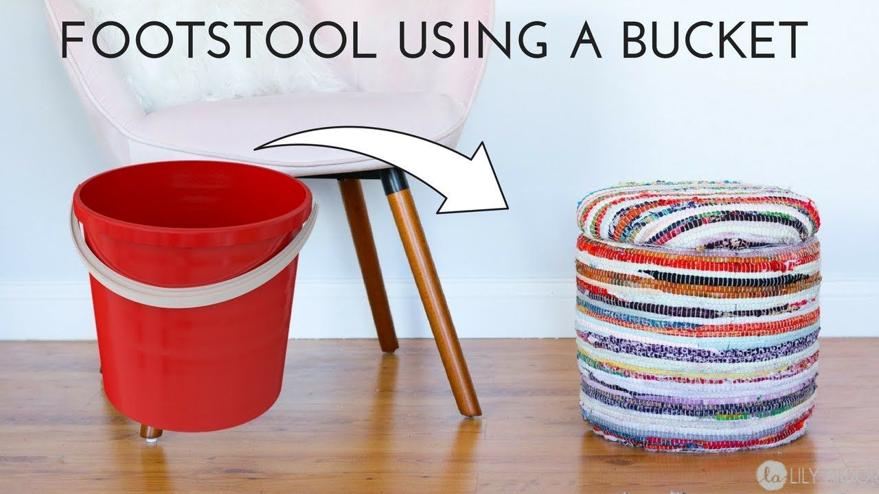 Superb Make It Ottoman Foot Stool Using A Bucket Easy Diy Inzonedesignstudio Interior Chair Design Inzonedesignstudiocom