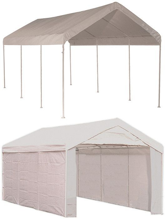 Shelterlogic 23529 Max Ap 10 Ft X 20 Ft 2 In 1 Canopy