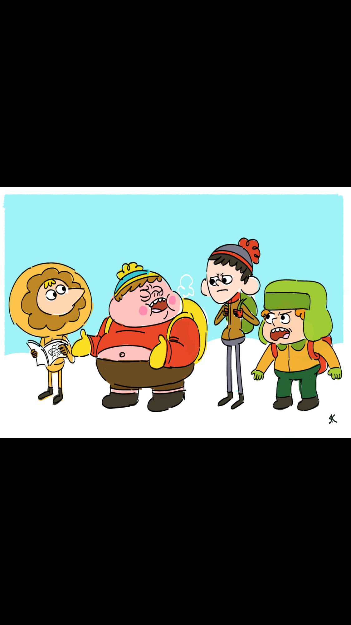 South Park - Clarence Style - Kyle Broflovski - Eric
