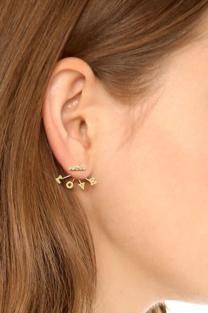 This Is A Jewelry Trend We Can Really Get Behind #refinery29 http://www.refinery29.com/decorative-earring-backs#slide1