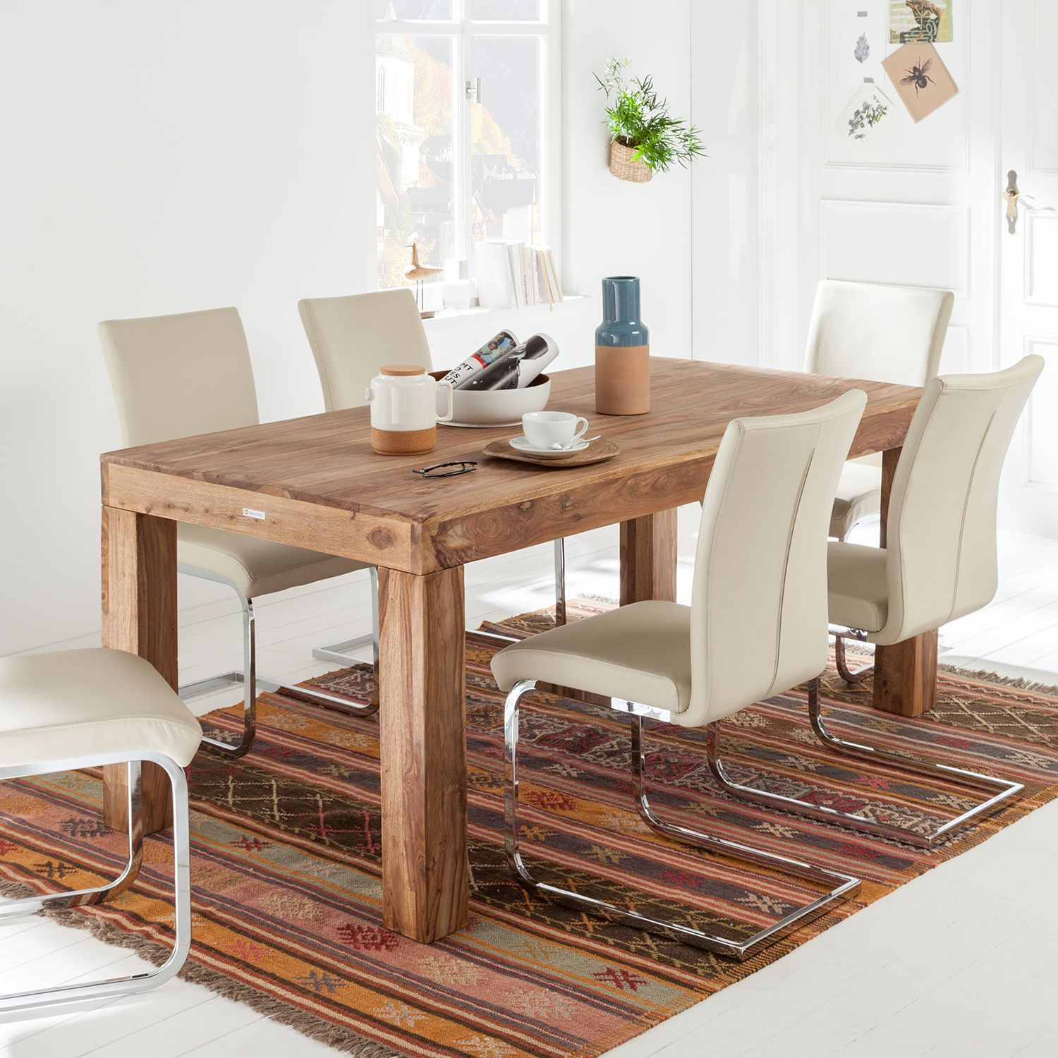 home24 Esstisch Bombay II | Dining table, Home decor, Home