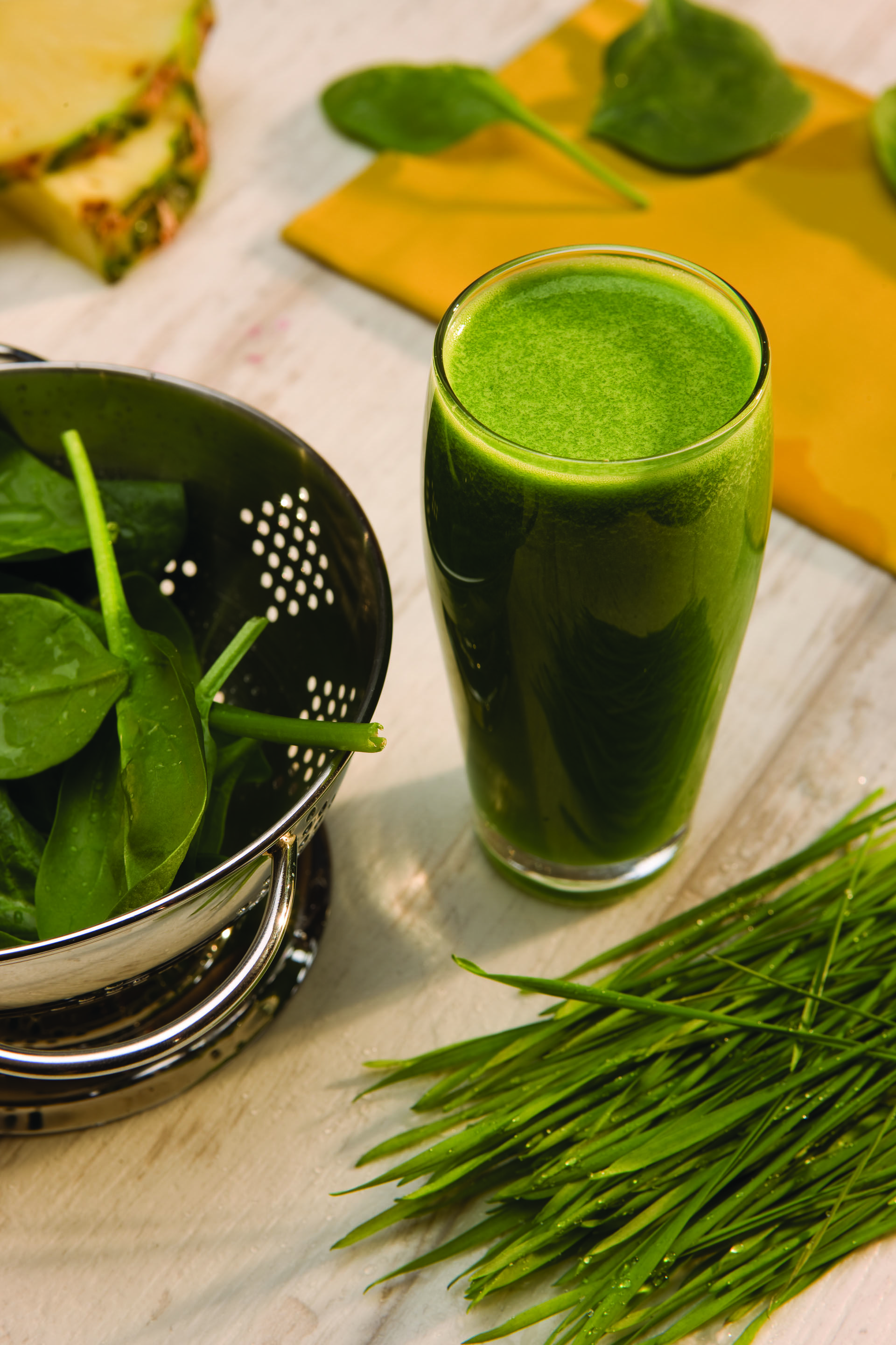 Jack LaLanne's Power Juicer Recipes - Wheatgrass Energy Drink