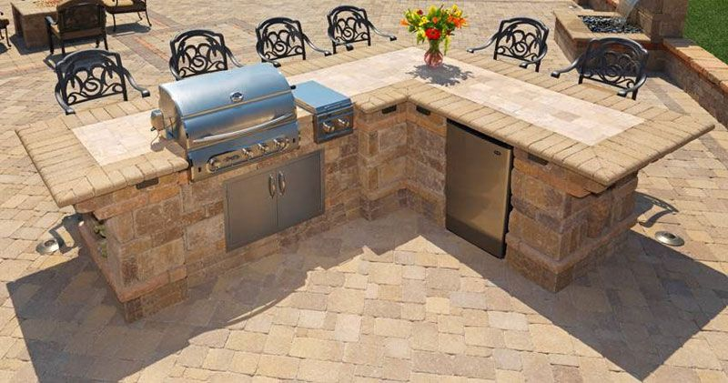 Outdoor bbq island designs we can install bbq island in for Built in bbq island designs