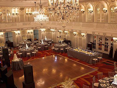 The Blackstone Hotel Downtown Chicago Wedding Venues Grant Park Sites Weddings 60605