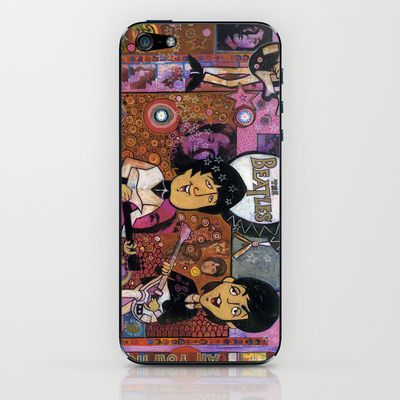 The Beatles iPhone & iPod Skin by Ray Stephenson - $15.00