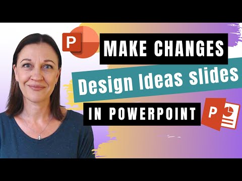 Learn How To Make Edit And Make Changes To A Design Ideas Slide In Powerpoint And Wow Your Audience With Fabulous S Powerpoint Slide Design How To Make Edits