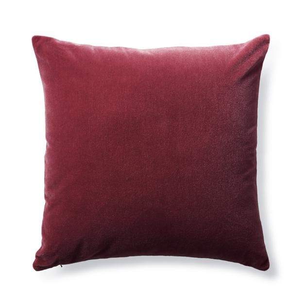 Raspberry Bach Mohair Decorative Pillow Pillows And Throws Impressive Raspberry Decorative Pillows